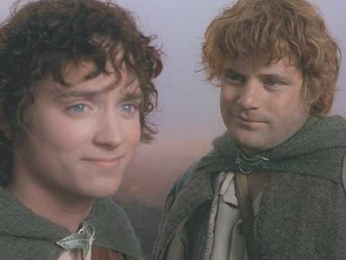 Frodo y Sam