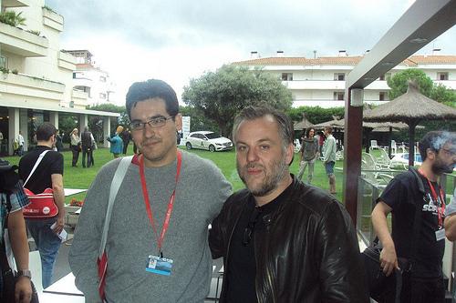 Con Pascal Laugier