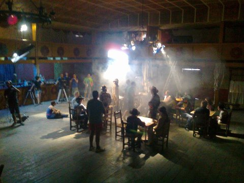 set de rodaje en fun west