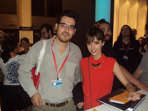 Con Leticia Dolera