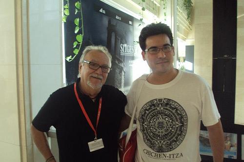 Con Lamberto Bava